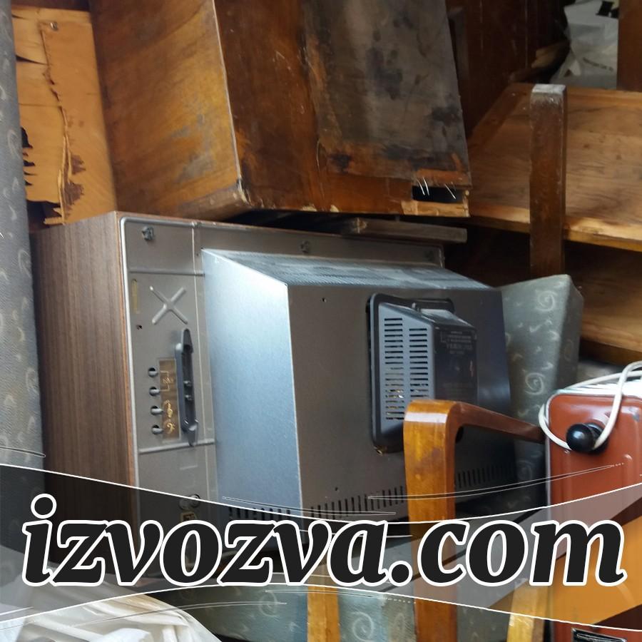 Извозва мебели, дървения и електроуреди в София