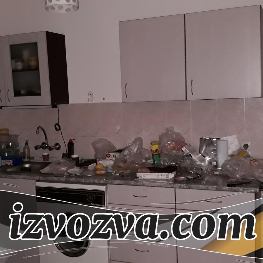Демонтаж на кухня с хамали и транспорт до депо за отпадъци